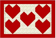 Click for Valentine Placemat Pattern